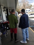 Jerry shows map to complete stranger who just wanted to buy gas...